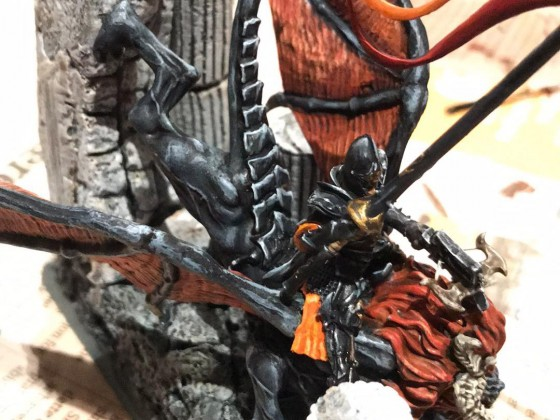 MrMossevig's Painting League 2019 - Dread Prince on Manticore