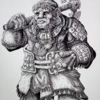 Islander Dwarf by DracarysDrekkar7
