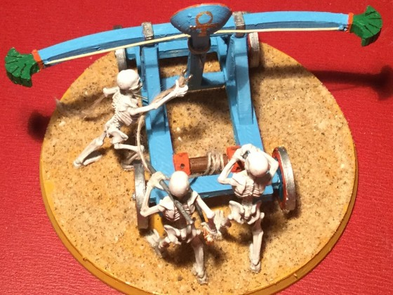 Charnel catapult