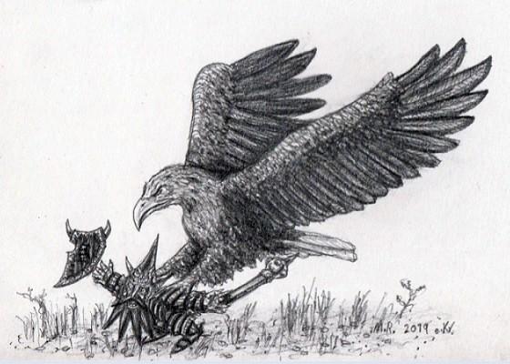 Great Eagle Assaults Khuralshki Dwarf