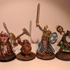 RPG characters, skirmish, HeroQuest