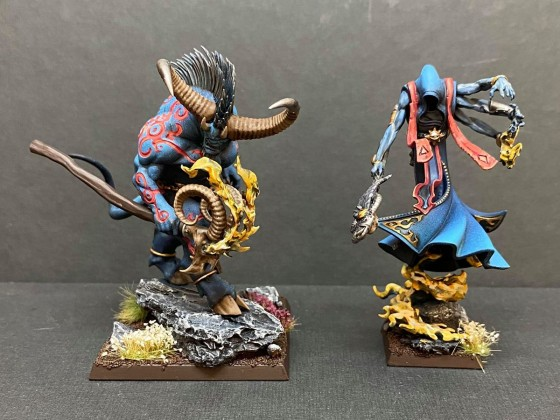 Omen of Savar and Kuulima's Deceiver