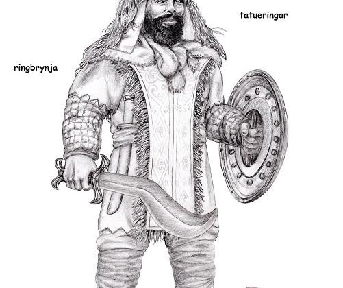 Kegiz Gavem Dwarf Swordsman by Paulus Indomitus
