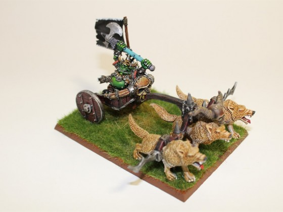 Grom El Panzudo as Goblin king on chariot