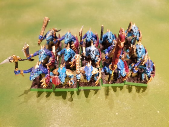 Saurian Warriors 1