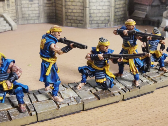 Light Infantry (aka Tanegashima) - Reinforcements