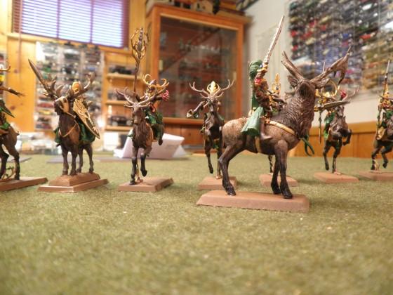 Wild huntswomen