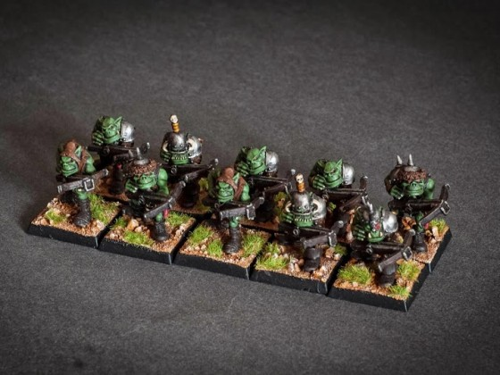 Oldschool Orcs with crossbows