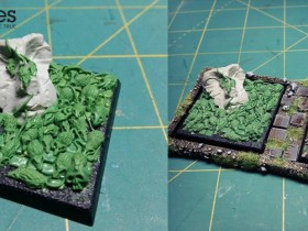 Rat Swarm (custom sculpted) from Figartes