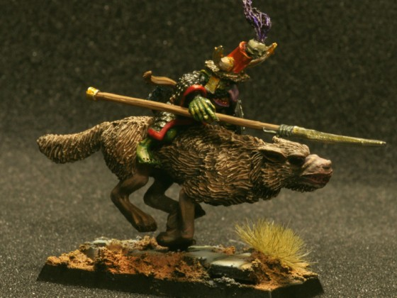 Goblin Hero in Wolf