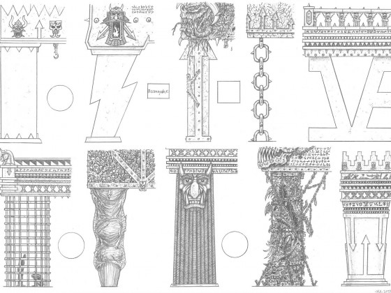 Infernal Dwarf Architecture: Columns II