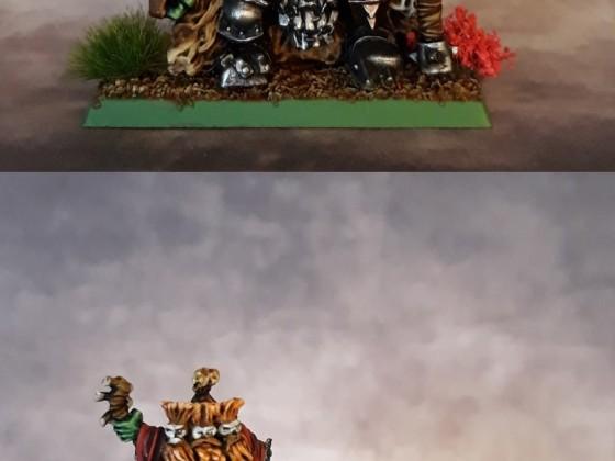 Orc Warlord / Grumlok & Gazbag