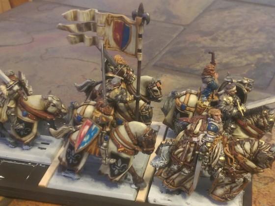 Questing knights unit wip