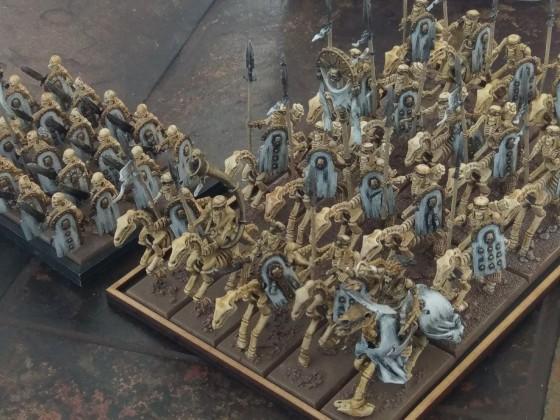 Skeleton cavalry