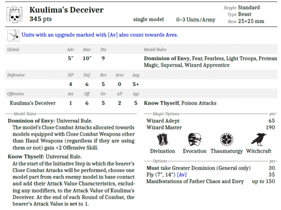 Kuulima's Deceiver