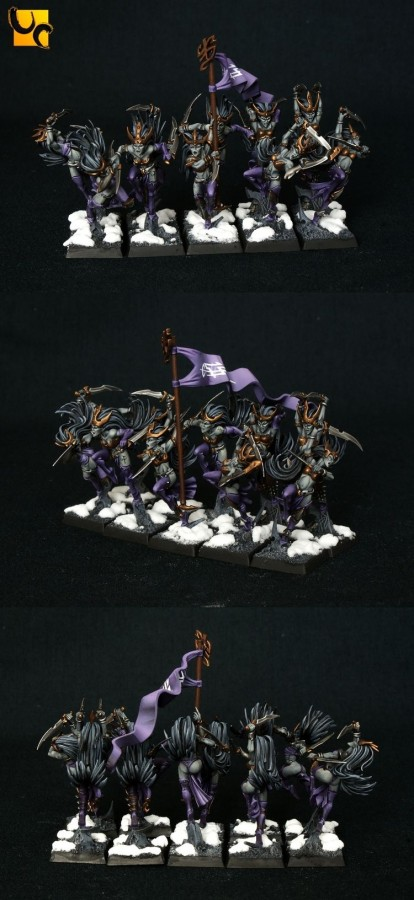 Better pictures of my Blades (painted by studio unlimited)