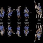 antohammer paper miniatures barrow legion quickstarter