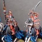 Brotherhood of the Dragon Vampires mounted on Skeletal Steeds