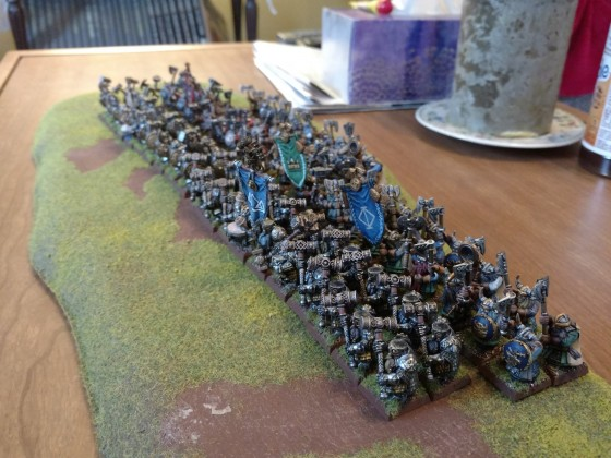 Might of the dwarves!  King's Guard, Deep Watch, and Clan Warriors