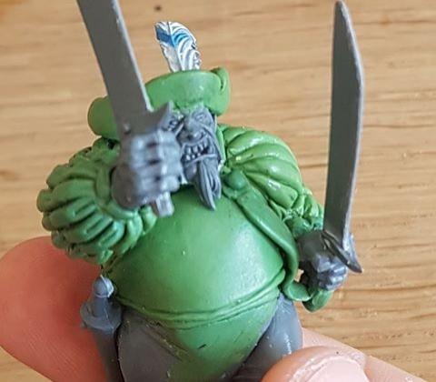 Empire themed Ogre Tribesman