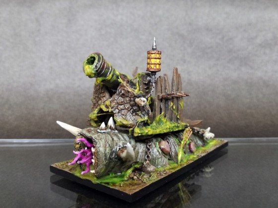 Nurgle Cannon Homemade