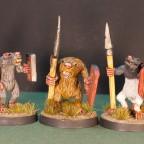 Rattas slave spears