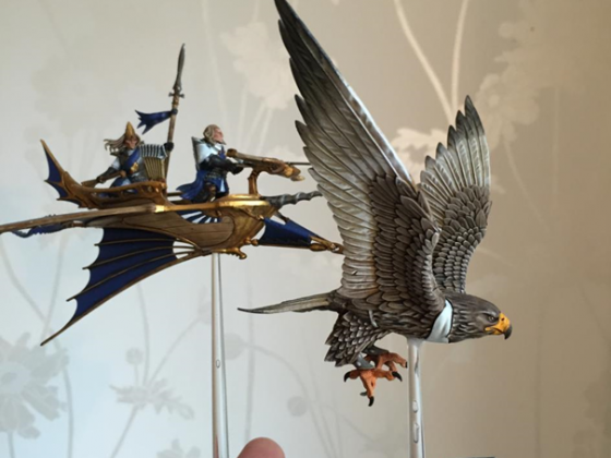 Highborn Elves - Hawk Chariot