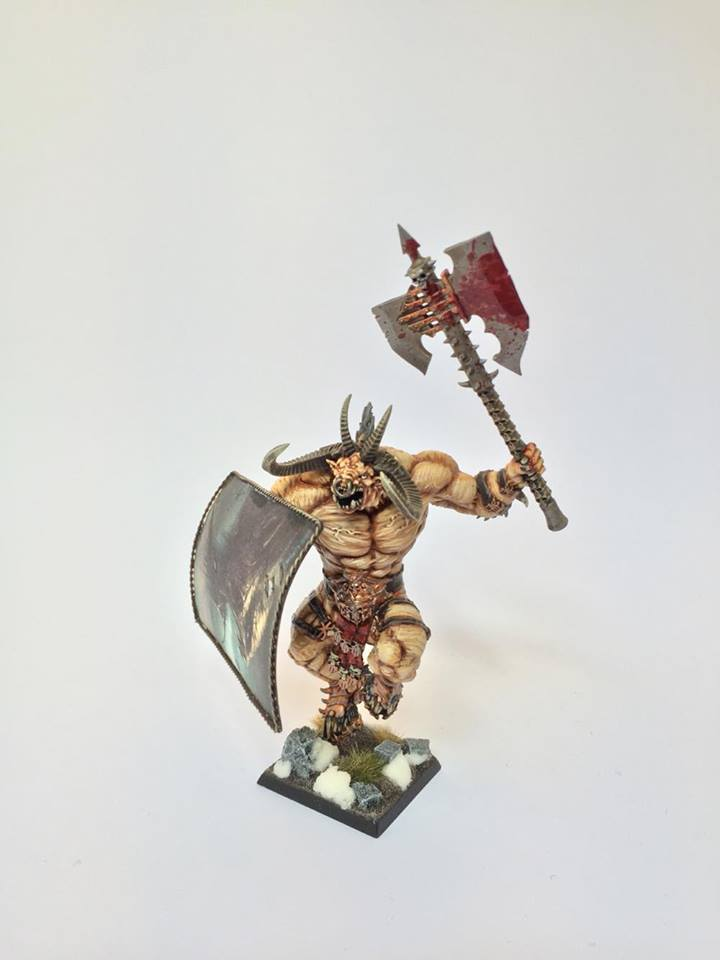 Minotaur Warlord by Lasse Blichfeldt