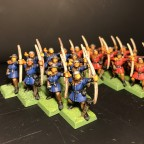 Painting League 2017 - Refurbished archers