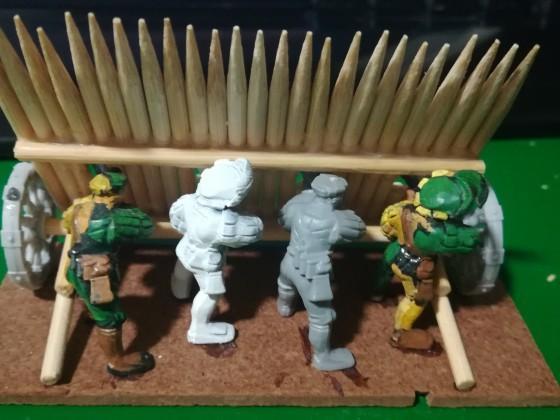 Light infantry filler