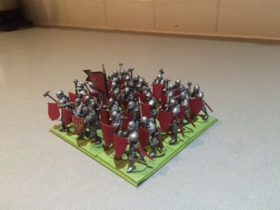 hw + shield guard painted
