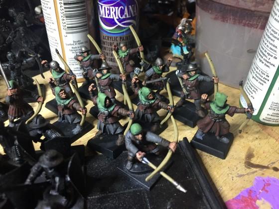 Equitaine Peasant Bowmen/Brigands