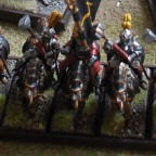 Knightly order with cavalry hammer