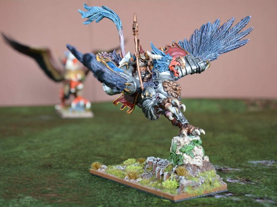 Wizard Master on Griffon with Locket of Sunna