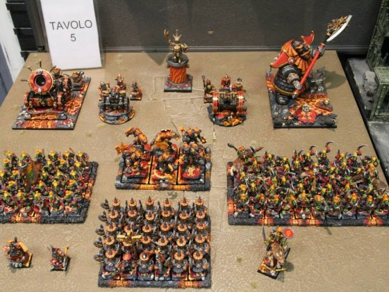 Infernal Dwarfs army shot