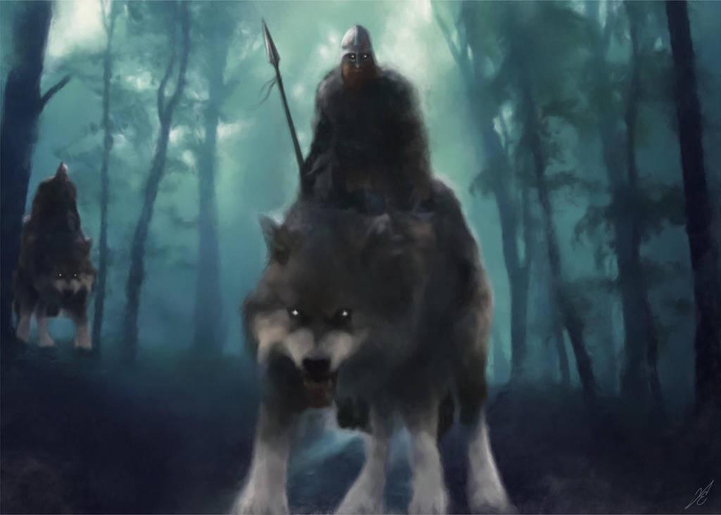 Åsklander Wolf Riders by Fredrik Eriksson