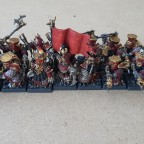 Citadel Guard with Flintlock Axe and Full Command