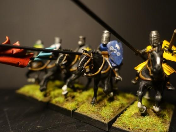 Knights Aspirant - Red Unit