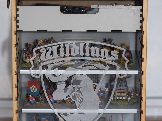 Miniatures Art Team carry case