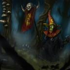 Nightgoblin Standardbearer