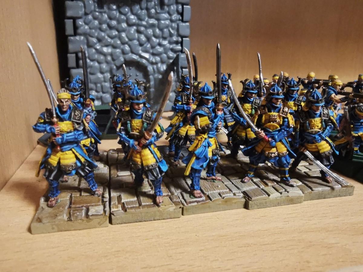 Dragon Empire Blademasters (aka Imperial Guard)