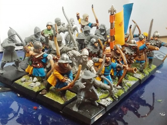 Peasant Bowmen (orange)