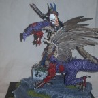 painted VC Lord on Zombie Dragon