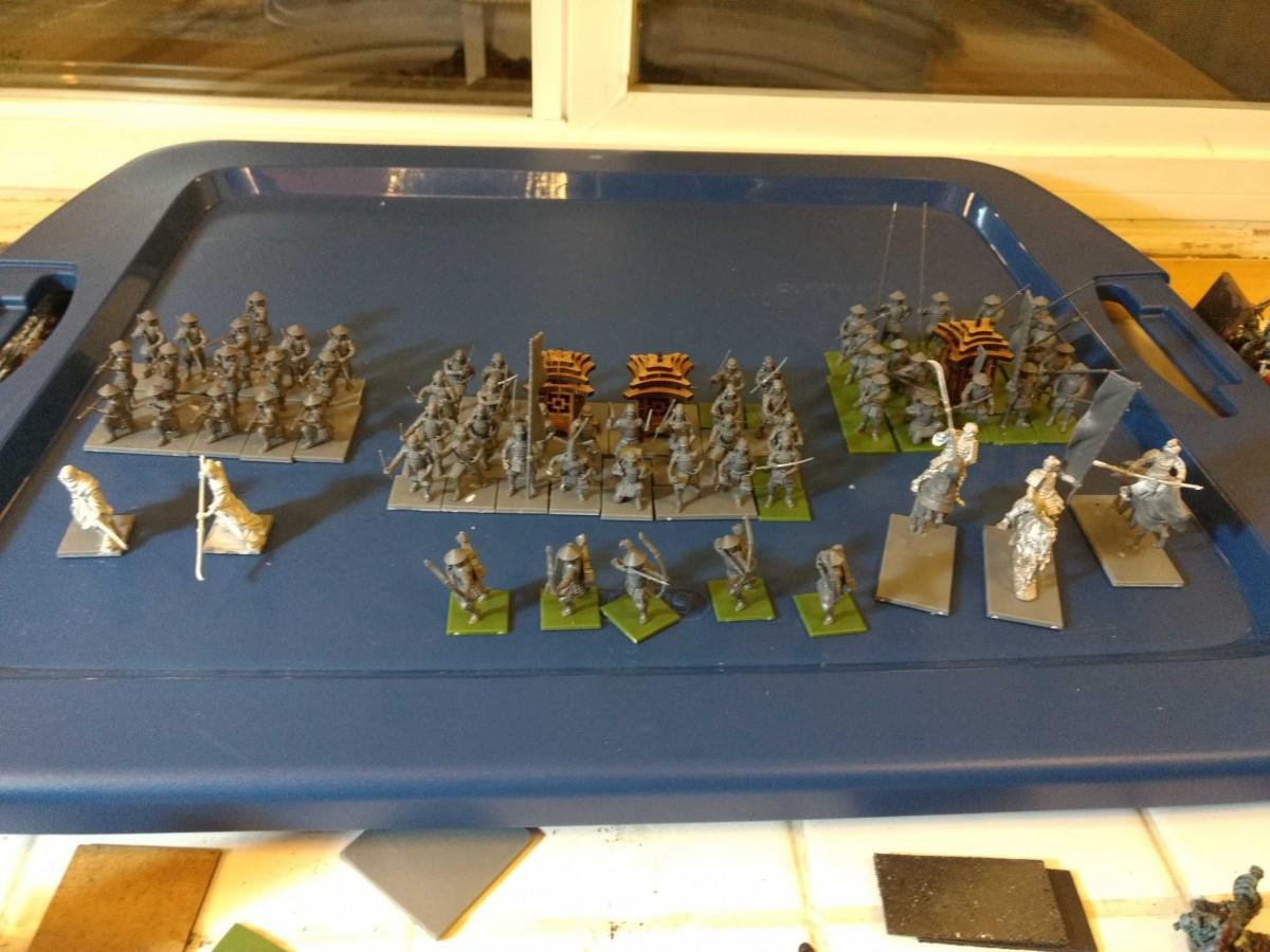 Start of my samurai themed army