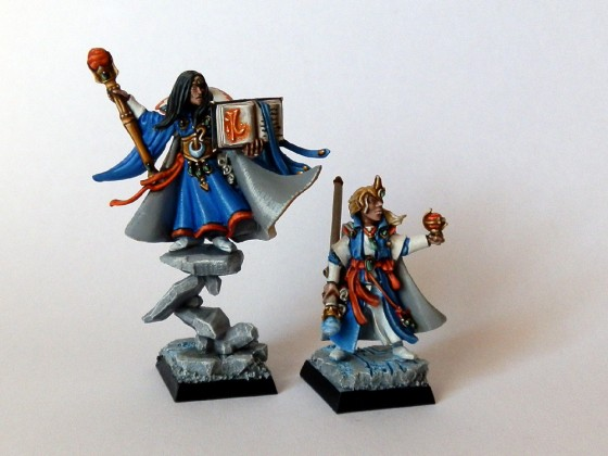 Archmage and mage