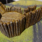 3D-printed terrain - Fort Octagon