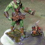 Big green brother - orkish look