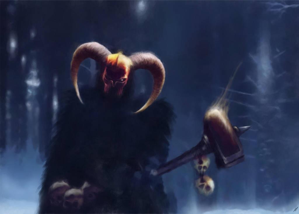 Warrior of the Dark Gods by Fredrik Eriksson