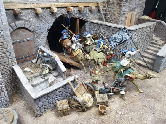 Berber Camelry from Caballero Miniatures