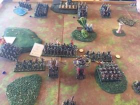 Empire vs Equitaine